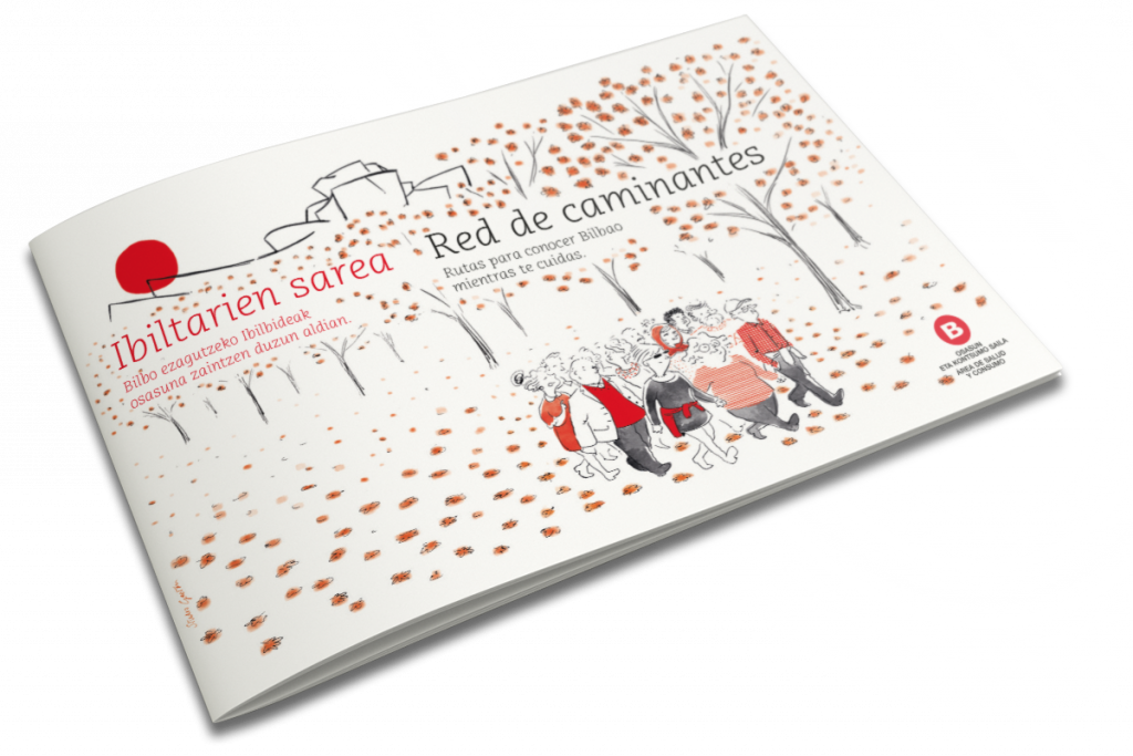 Folleto red de caminantes